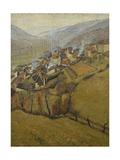 La Bastide Du Vert, Novembre Giclee Print by Henri Martin