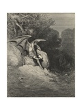 Him, Fast Sleeping, Soon He Found Giclee Print by Gustave Doré