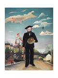 Myself: Portrait – Landscape Giclee Print by Henri Rousseau
