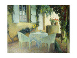 Terrasse Du Manoir a Marquayrol Giclee Print by Henri Martin