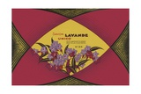 Savon Lavande Soap Label Giclee Print