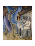 Man and the Fates Giclee Print by Glyn Warren Philpot