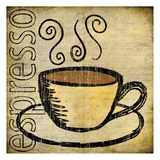 Coffee 3 Print by Kristin Emery