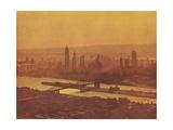 Illustration of New York City Giclee Print
