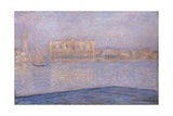 The Palazzo Ducale, Seen from San Giorgio Maggiore Giclee Print by Claude Monet