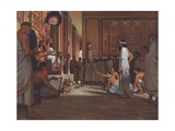 The Code of Hammurabi Giclee Print by Robert Thom