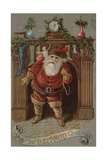 The Woolson Spice Co. Wishes You a Merry Christmas Greeting Card Giclee Print