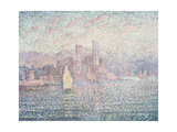 Antibes, Morning Giclee Print by Paul Signac