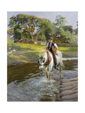 The Close of a Summer's Day Giclee Print by Harold Harvey