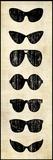 Glasses Prints by Kristin Emery