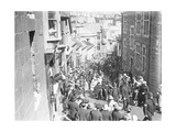 St Ives Street Procession Giclee Print