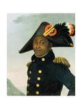 Portrait of Toussaint Louverture Giclee Print