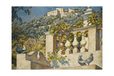 The Balustrade Giclee Print by Théo van Rysselberghe