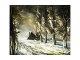 Winter Countryside Giclee Print by Maurice De Vlaminck