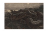 Kaa the Python Giclee Print by Charles Maurice Detmold