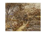 Springtime Giclee Print by Helen Allingham