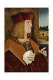 Portrait of Emperor Maximilian I Giclee Print by Bernhard Strigel