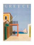 Greece Poster Giclée-trykk