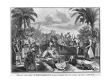 Funeral in the East Indies Giclee Print by Bernard Picart