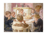 The Birthday Party Giclee Print by Luplau Janssen