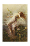 A Nymph Giclee Print by Edouard Bisson