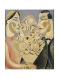Le bouquet Reproduction procédé giclée par Gustave de Smet