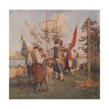 The Settlement of the Dutch Giclee Print by Stanley Arthurs