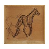 Horses Giclee Print by Edgar Degas