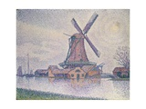 Edam Windmill Giclee Print by Paul Signac