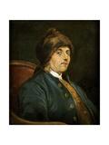 Portrait of Benjamin Franklin Giclee Print by John Baptiste Lienard