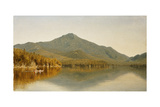 Mount Whiteface from Lake Placid, in the Adirondacks Giclee Print by Sanford Robinson Gifford