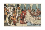 Cinderella Enters the Coach Giclee Print by John Hassall