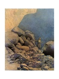 Second Voyage of Sinbad Giclee Print by Maxfield Parrish
