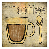 Coffee 1 Poster by Kristin Emery