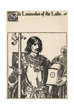 Sir Launcelot of the Lake Giclee Print by Howard Pyle
