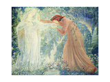 Dante Giclee Print by Jean Delville