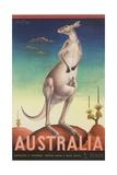 Australia Poster Giclee-trykk av Eileen Mayo