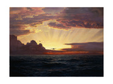 A Dawn Flight Giclee Print by Frederick Judd Waugh