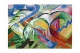 The Sheep Giclee Print by Franz Marc