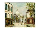 Le Sacre-Coeur a Montmartre Giclee Print by Maurice Utrillo