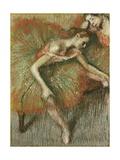 Dancers Giclee Print by Edgar Degas