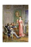 Scenes from La Rampe Giclee Print by Maurice Leloir