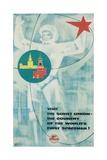 Visit the Soviet Union Poster Giclee Print