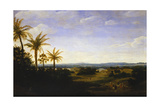 An Extensive Landscape in Brazil Giclee Print by Frans Jansz Post