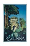 Ravenna Poster Giclee Print by Attilio Ravaglia