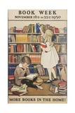 Book Week Poster Giclee Print by Jesse Willcox Smith
