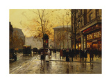 La Madeleine, Paris Giclee Print by Edouard Cortes