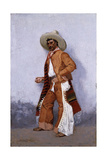 A Vaquero Giclee Print by Frederic Sackrider Remington