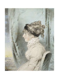 Portrait of a Lady, Identified as Eliza Were Holdsworth Giclee Print by John Downman