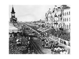 Coronation Procession in Moscow Giclee Print